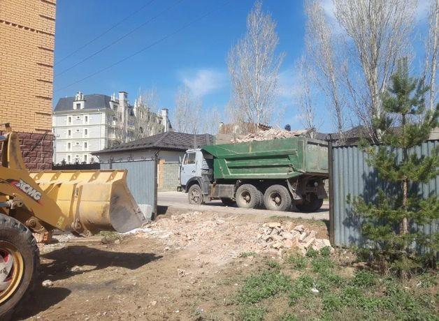 Вывоз строительного мусора, грунта, хлама.