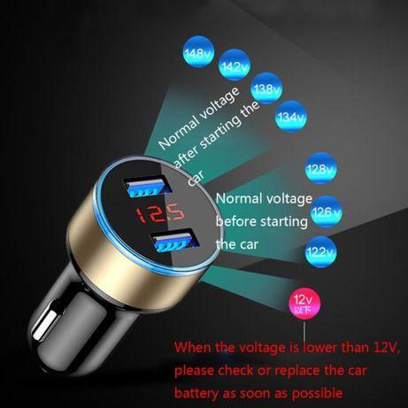 Incarcator alimentator charger auto dual