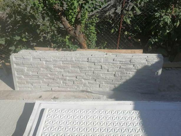 Gard prefabricat din beton armat