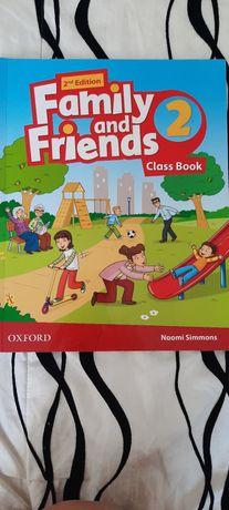 Книга по английскому Family and Friends 2 уровень