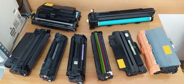 Зареждане на тонер касета, продажба касети за лазерни принтери.