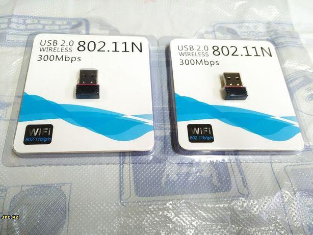 Wireless 802.11N USB Adapter LV-UW01/ AC7601 Бело-голуб уп-ка/ Mini/