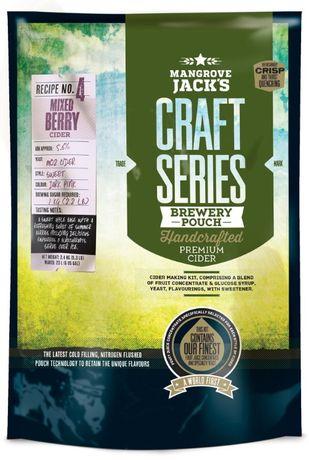 Mangrove Jack's Craft Series cidru - 23 de litri de cidru delicious