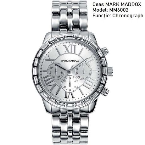 Ceas Krug Baumen Trendy / PULSAR by Seiko / Mark Maddox Chronograph