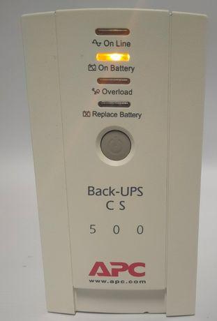 APC Back UPS 500va-300W/цената е с вкл. ДДС, гаранция