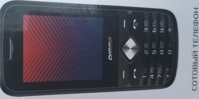 Моб/тел новый в упаковке 2 sim карты,,DIGMA PRO/отличного качества