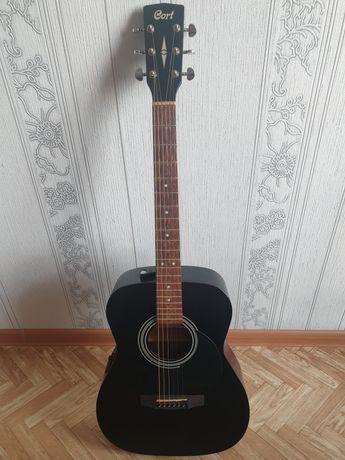 Продам акустическую гитару cort AF510E в отличном состоянии