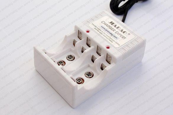 ANIMABG Зарядно за АA, AAA и PP3 презареждащи батерии