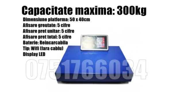 Cantar Platforma Electronic  Wifi 300kg + LIVRAREA GRATUITA