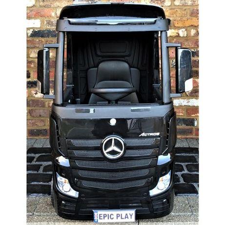Camion electric pentru copii Mercedes ACTROS 4x4 STANDARD 4x45W #Negru