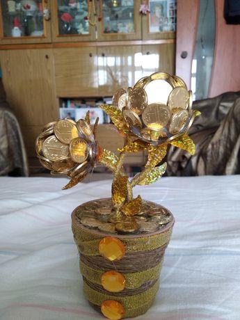 Продам денежное дерево, ручная работа, необычный подарок