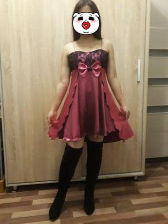 Вечернее платье сшили на заказ