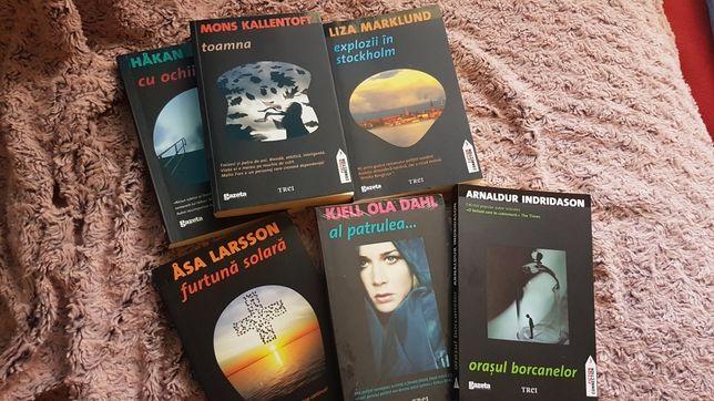 Colectie romane politiste -scriitori nordici