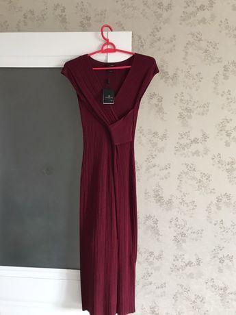 Новое платье Massimo Dutti с этикеткой