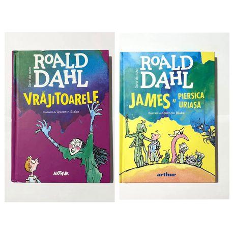 Cartea Vrajitoarele / Cartea James si piersica uriasa de Roald Dahl