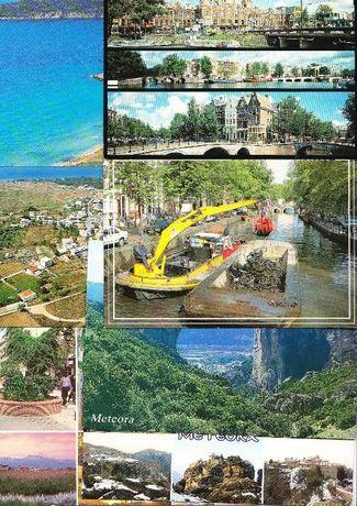 Lot 16 carti postale necirculate :Ungaria,Grecia,Olanda