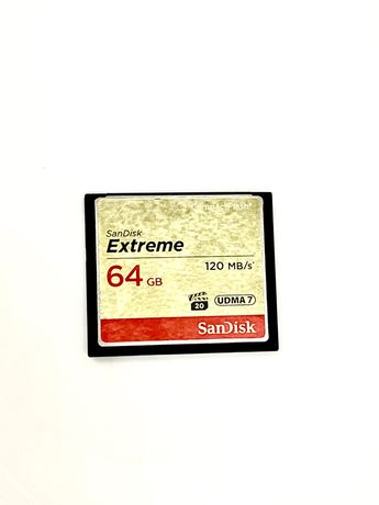 Карта памяти Compact flash 64GB