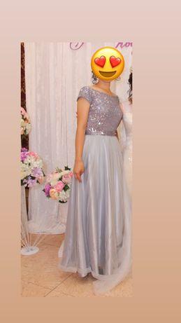 Вечернее платье с блестками. Будете сверкать в любом мероприятие.