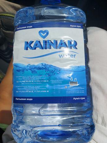 Чистая, очищенная  питевая вода Кайнар с доставкой