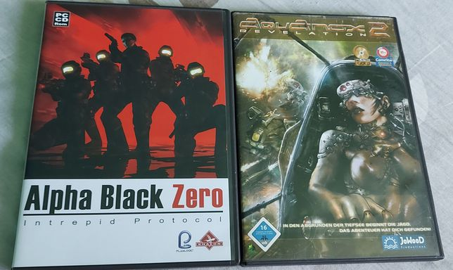 Alpha Black Zero si AquaNox 2: Revelation - Jocuri PC - Action/Shooter