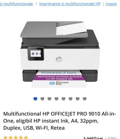 Imprimanta Hp all in one wireles color
