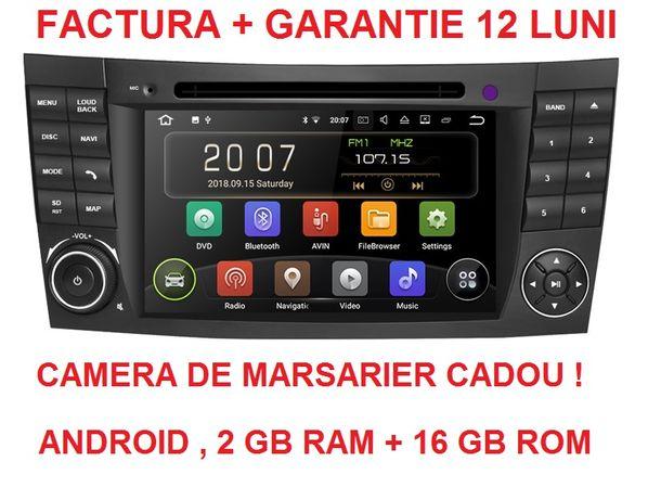 Navigatie Gps Android Mercedes E class W211 CLS W219 noua garantie