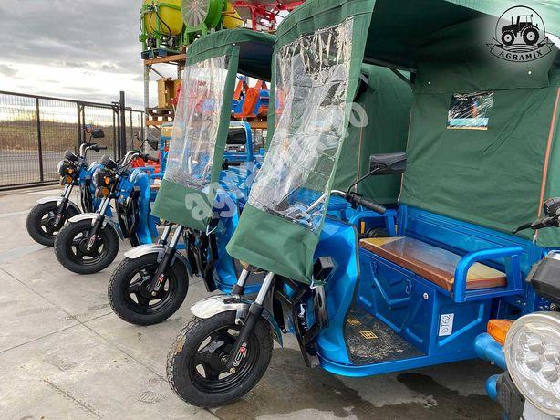 Cabina de protectie prelata noua pt triciclu Agramix