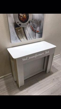 Стол трансформер в Костанае стол раздвижной книжка