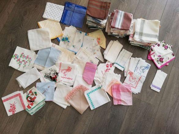 Нови кърпички от едно време - ако се вземат всички 181 броя - 80лв