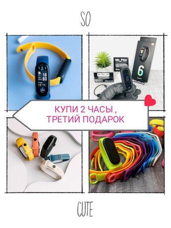 Фитнес браслет спортивный xiaomi Mi band 4 5 6 smart Алматы оригинал