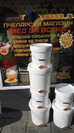 Пластмасова кофа за мед