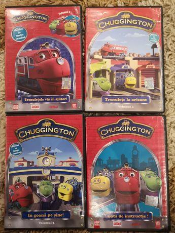 Vand colectia CD cu Trenuletele Chuggington