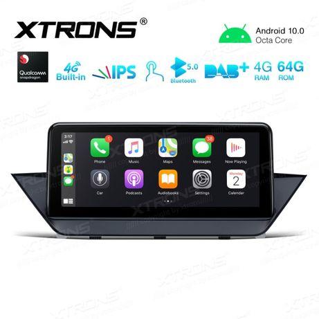 "Navigatie XTRONS 10.25"" Android 10 BMW X1 E84 8-Core 4GB RAM 64GB"
