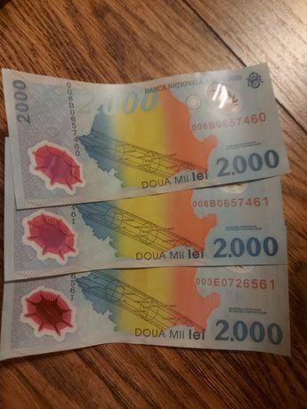 Bancnote noi eclipsa, consecutive