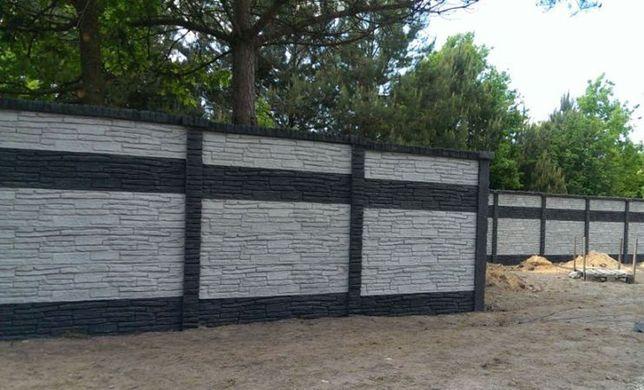 Gard/placi din beton armat prefabricat Ploiesti