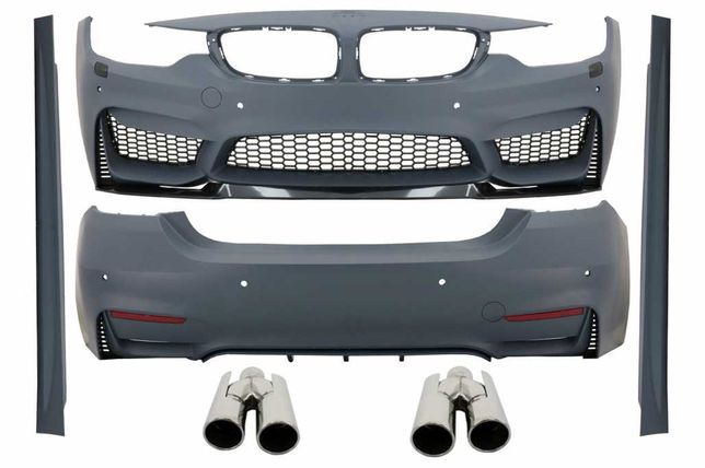 Pachet KIT Complet BMW Seria 4 F32 F33 (2013-up) M4 Design Coupe