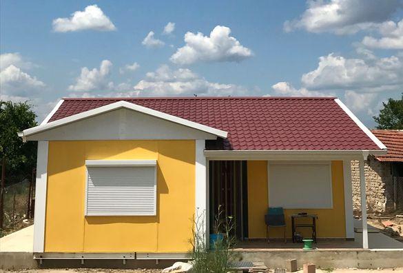 Сглобяеми къщи с метална конструкция
