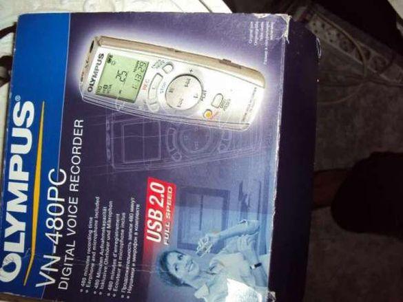 Продавам записващо устройство -Olympus VN-480PC - Digital voice recor
