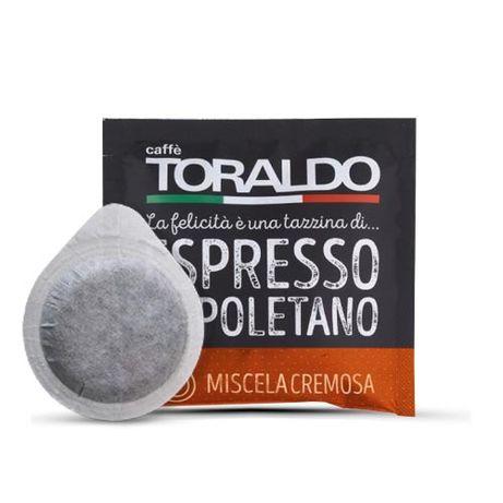 150 бр Кафе хартиени дози /подс/ E.S.E 44 мм Торалдо Кремоса (0,40 лв)