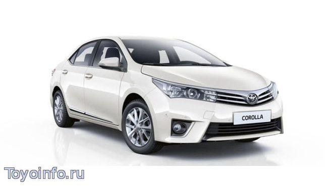 Капот,бампер и фара на Тойота Королла 2015/ Toyota Corolla 180