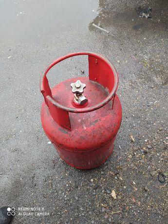 Продам заправленные газовые баллоны  с вентилем