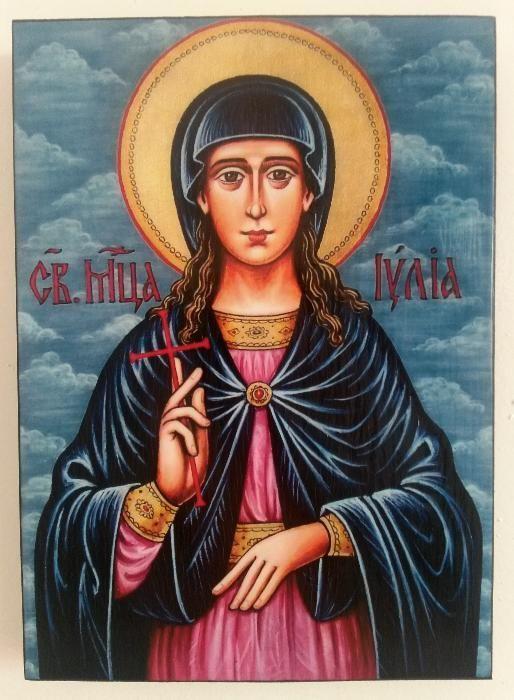 Икона на Света Юлия ikona Sveta Iuliq