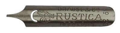 Penita Brause & Co, No. 648, Rustica
