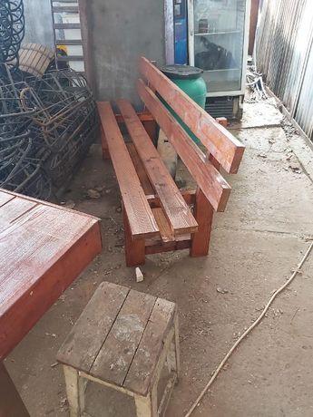 banca lemn la comanda