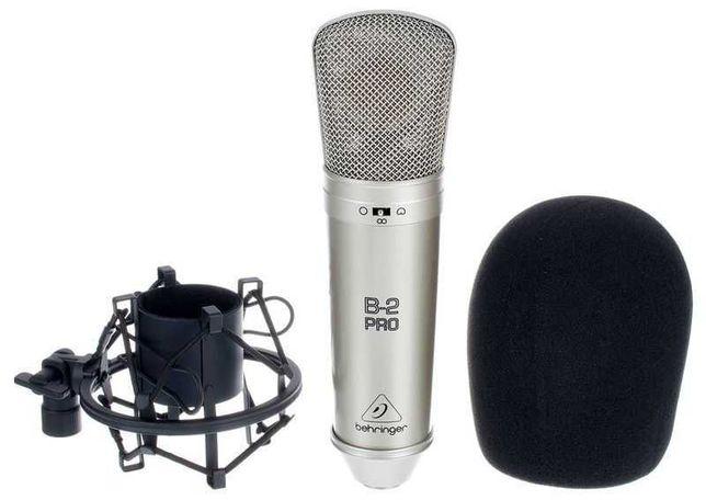 Студийный конденсаторный микрофон Behringer b-2 Pro с предусилителем