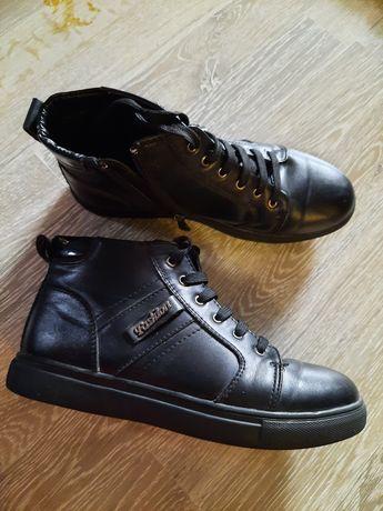 Демисезонные ботинки мальчик 35