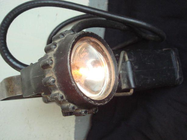 Раритет Вечная фонарь-Лампа переносная  Шахтера Сделано в СССР Рабочая