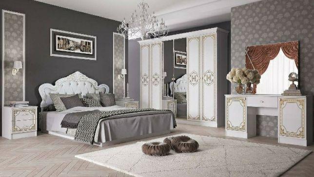 Спальный гарнитур ВИРАЖ Дёшево в Алмате Наличие прямая со Склада