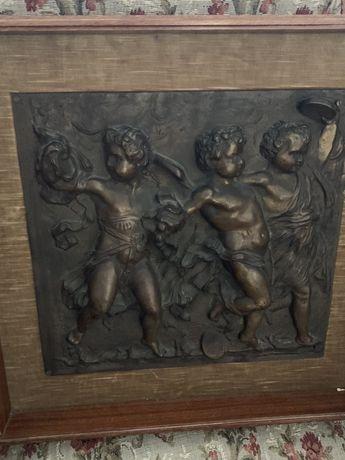 Statuete ,Blazon bronz