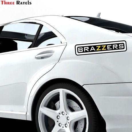 3d стикер за кола brazzers - водоустойчив